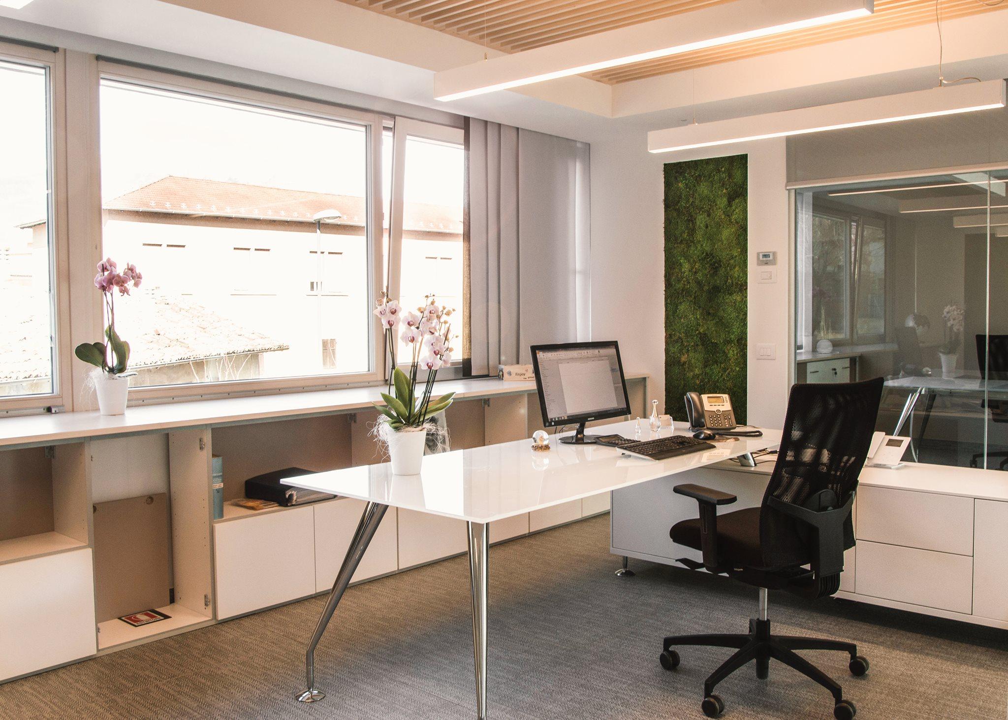 Progettazione di interni uffici direzionali Eurochrome